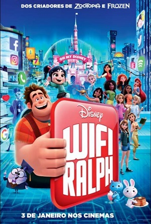 WiFi Ralph - Quebrando a Internet Legendado Torrent torrent download capa