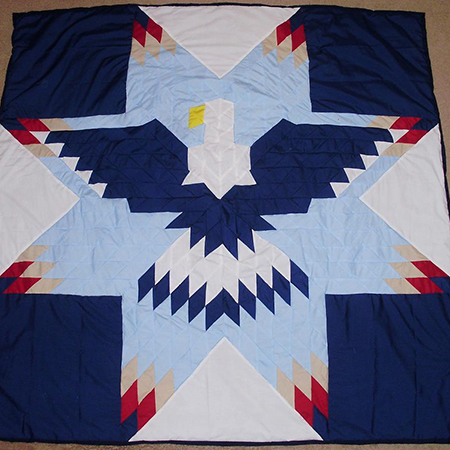 Lonestar Eagle Quilt