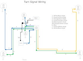 The Care and Feeding of Ponies: 1965 1966 Mustang Turn signal switch wiring | Turn Signal Wiring Diagram For 1966 Mustang |  | The Care and Feeding of Ponies - blogger