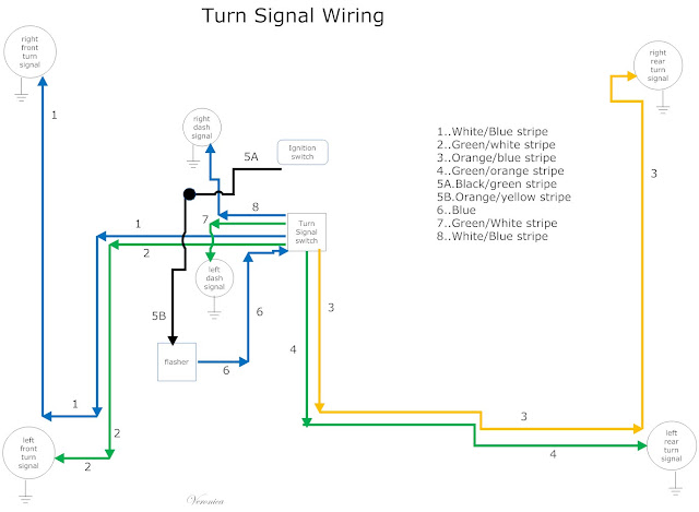 Turn+signal+Wiring the care and feeding of ponies 1965 1966 mustang turn signal Turn Signal Relay Wiring Diagram at mifinder.co