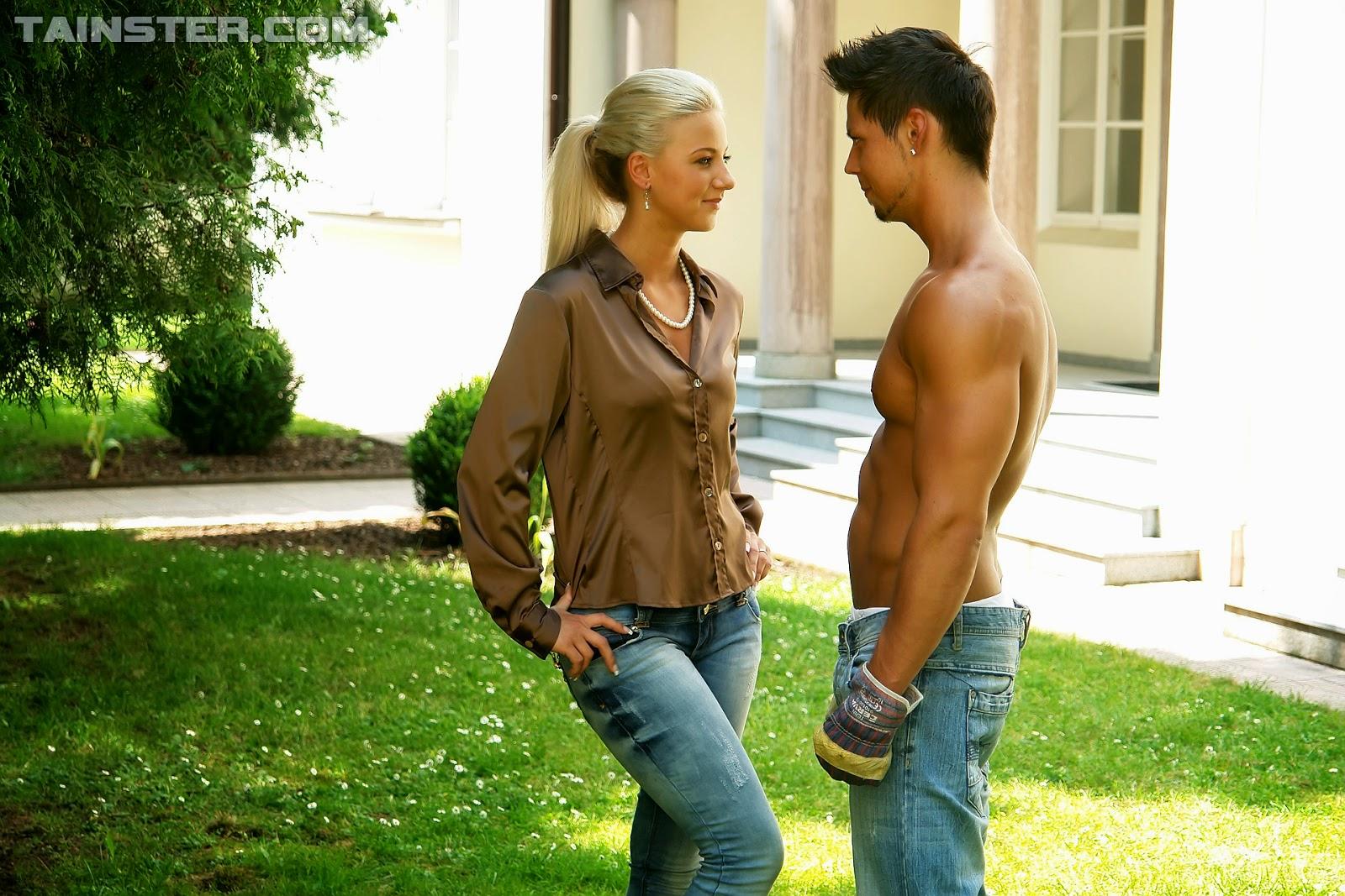 ficken in jeans