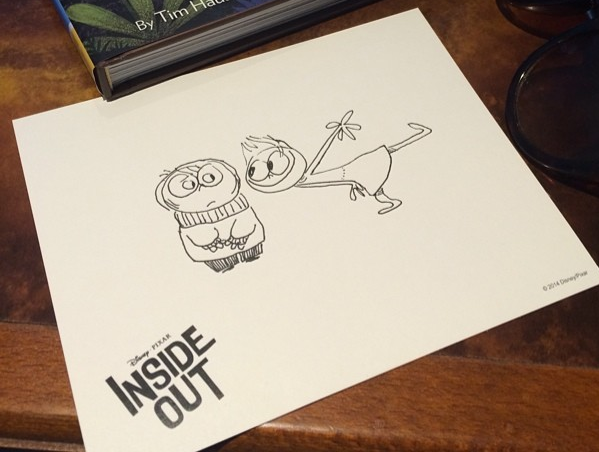 the concept and importance of sentimentality in inside out an animated film by pete docter A film set inside a little girl's brain is pixar's most emotional journey yet   animation studio called pixar, when he came up with an idea for a film he  pete  docter, write and director of inside out credit: disney/pixar/pixar.