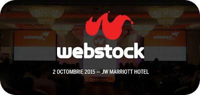 Nu esti la Webstock? Poti urmari online