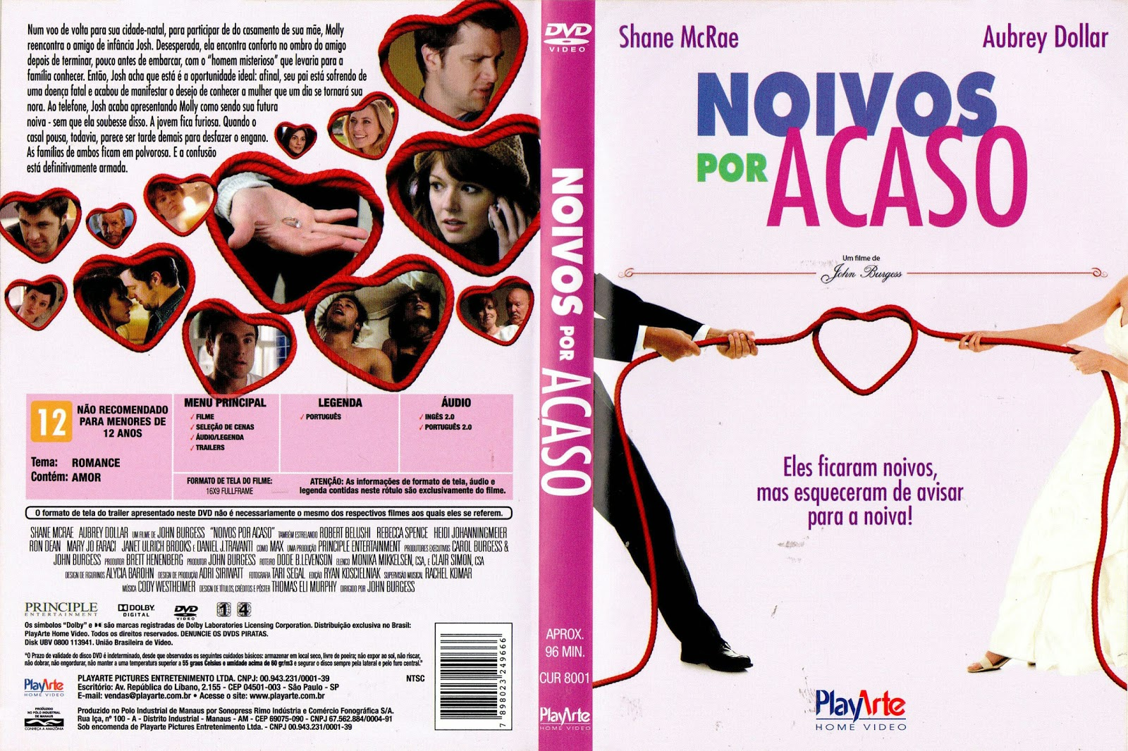 Capa DVD Noivos Por Acaso