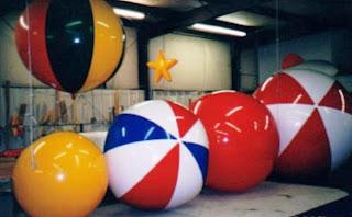 Balon Pantai 1