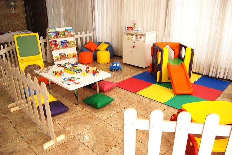 Espaços das brinquedotecas