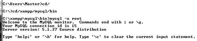 Perintah SQL untuk Membuat Database