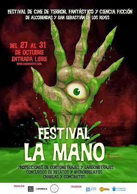 La Mano, Festival de Cine Fantástico y de Terror de Alcobendas y San Sebastián de los Reyes