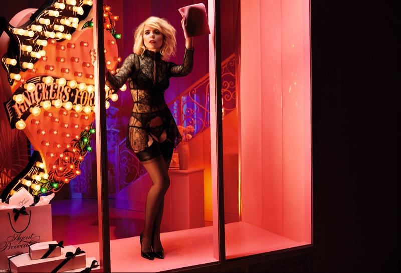 Paloma Faith seductive in Agent Provocateur's Fall/Winter 2015 Ad Campaign