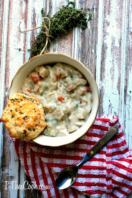 Chunky Chicken Pot Pie from I Thee Cook