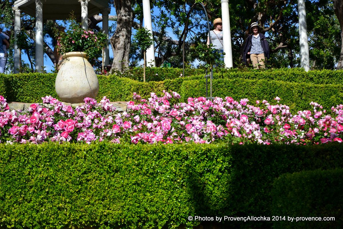 Villa, de, Rotshilde,fete, des ,roses