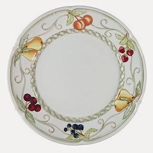 Theodora Home mesa café da manha coleção Les Fruits prato de sobremesa