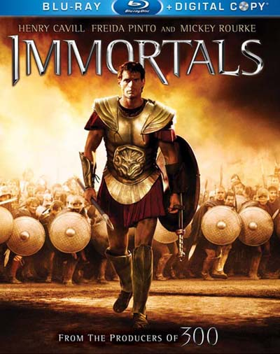 Immortals (2011) [BDrip 720p x264] [Dual Español-Ingles]
