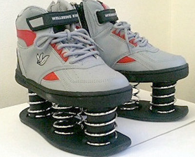 Running Shoes With Springs In Them