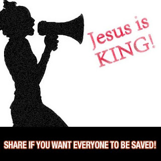 Jesus is KING! Share if you want everyone to be saved!