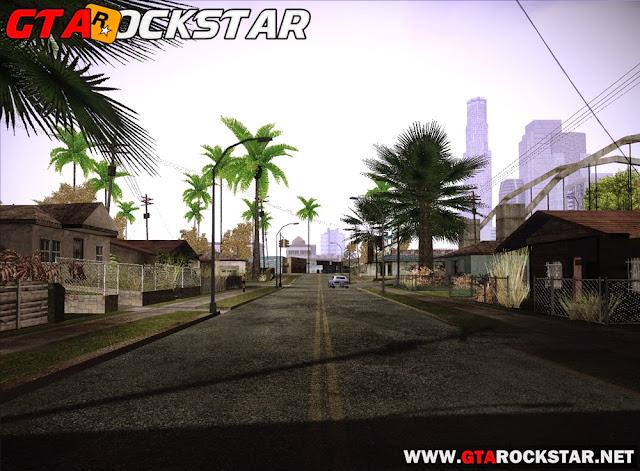 GTA SA - Professional Graphics Mod