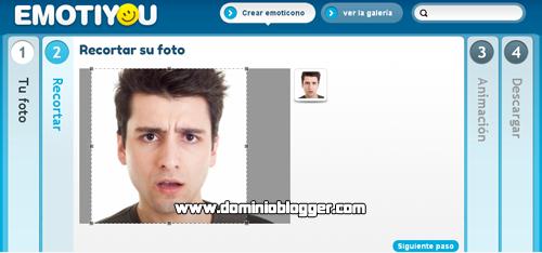 Crea emoticones animados usando tus fotos con EmotiYou