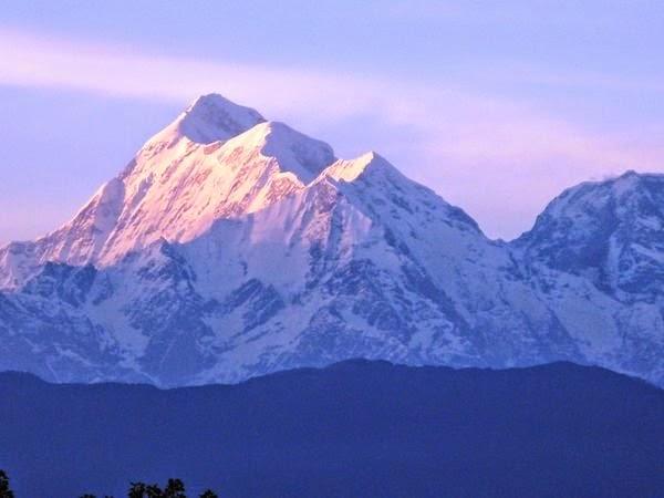 Trisul Mountain in Bageshwar, India