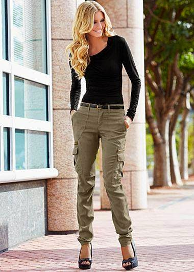 Model 15 Ways To Wear Cargo Pants 2017  Become Chic
