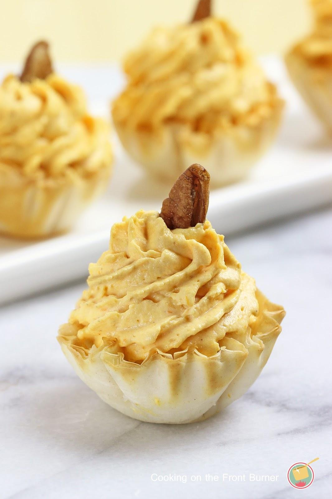 No-Bake Pumpkin Bites | Cooking on the Front Burner