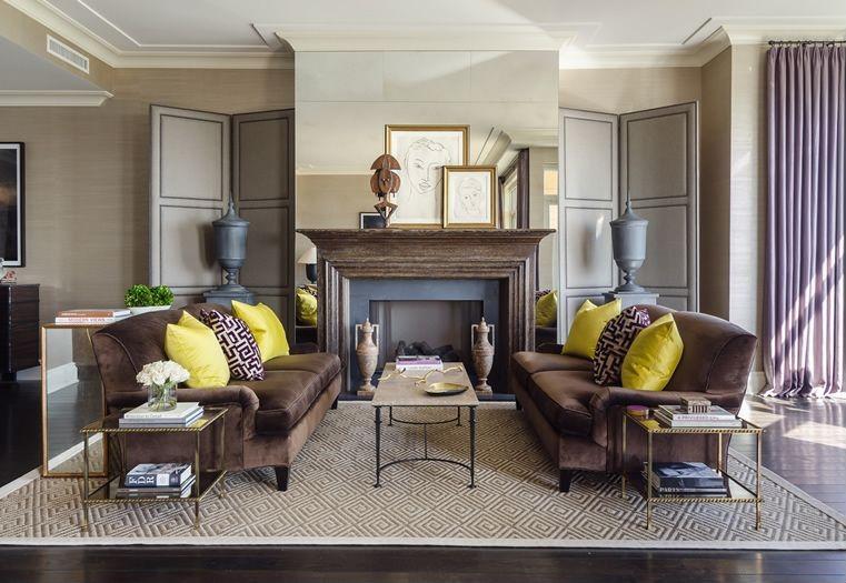 contoh desain ruang keluarga mewah desain denah rumah