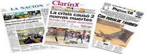 Mira las tapas de los diarios Argentinos aqui.