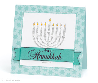 Hanukkah Card CTMH Stamp Set