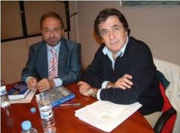 Con Luis Landero, Premio de la Crítica y Premio Nacional de Literatura