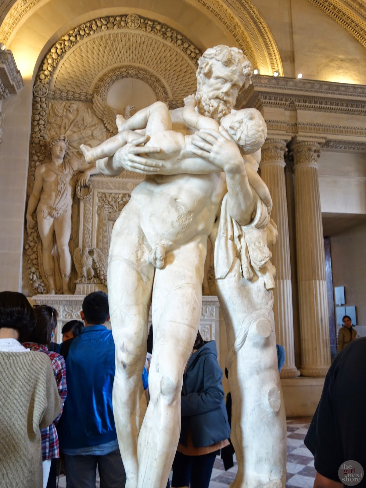 Silenus carrying Dionysus | The Louvre by Girl Next Shore