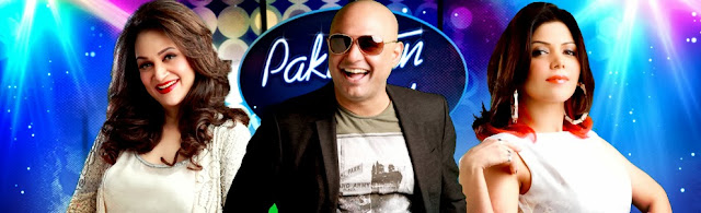 Pakistan Idol judges Bushra Ansari, Ali Azmat and Hadiqa Kiani