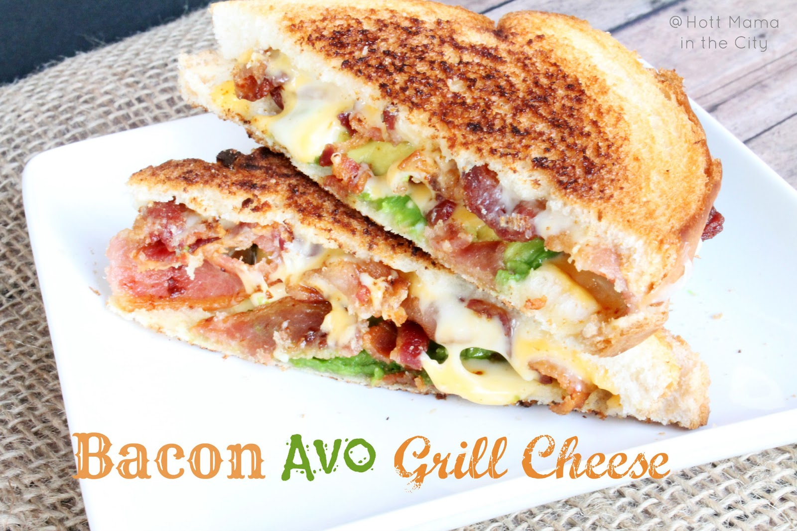 Grilled Cheese With Bacon And Avocado Images & Pictures - Becuo