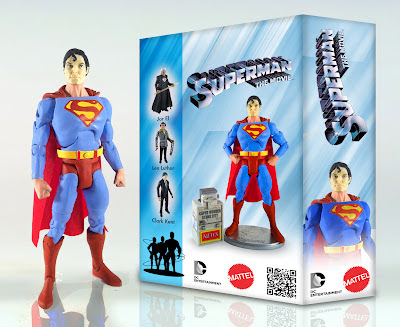 Superman Dc Collectibles entertainment legendary sdcc 2012 panel zack snyder henry cavill  movie masters man of steel dark knight rising costume bane mattel fanfilm plano illinois smallville superfest zod sneak peek sizzle reel teaser trailer exclusive green lantern kilowog kyle rayner GeekSummit mystery figure action matty collector subscription tier 1 2 mattycollector.com hot toys kai play arts square enix bat signal batman 66 licnese