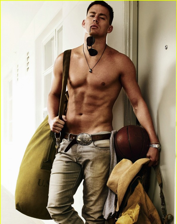 Channing Tatum Gym