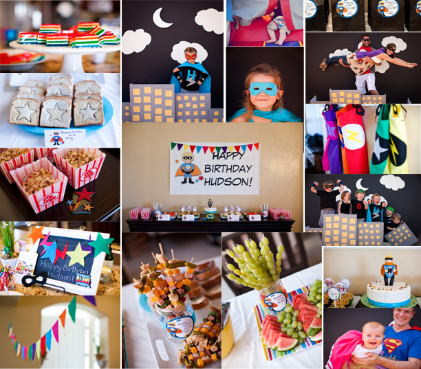 Domestic Charm: Hudson's Birthday Parties