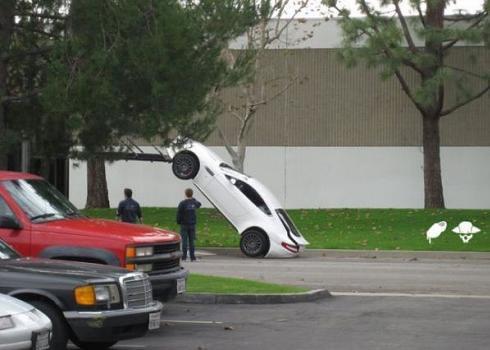 Weird car accidents