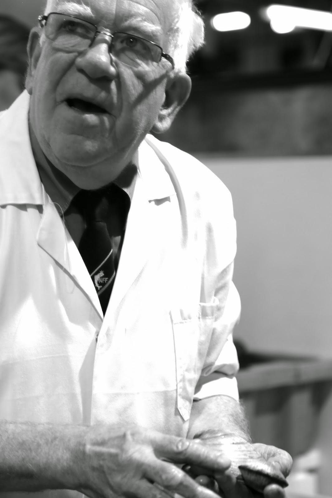 Ken Condon, Fishmonger, Billingsgate
