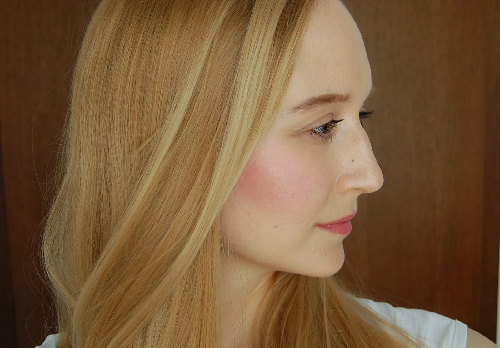 Delizioso Skincare Tara Collection Adorned Blushing Mousse, Lily Lolo Romantic Rose Lipstick