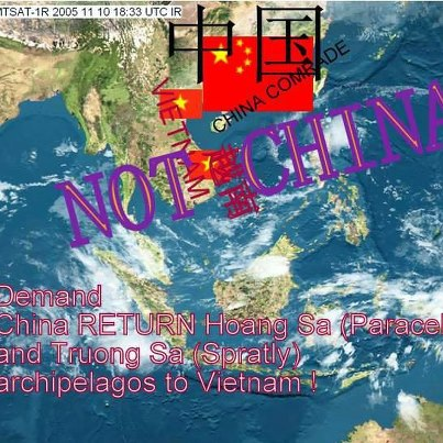 Demand  China return Paracel and Spratly archipelagos to Vietnam
