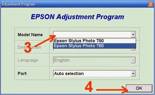 How to reset Epson T60 printer Waste ink counter