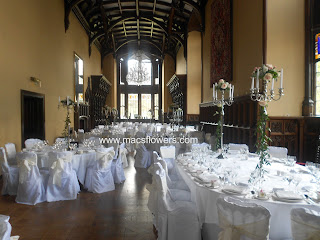chair covers and centerpieces at adare manor