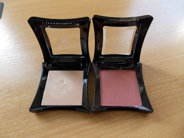 Illamasqua Gleam in Aurora and Illamasqua Blusher in Ambition