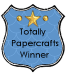 Winnaar bij Totally Papercrafts