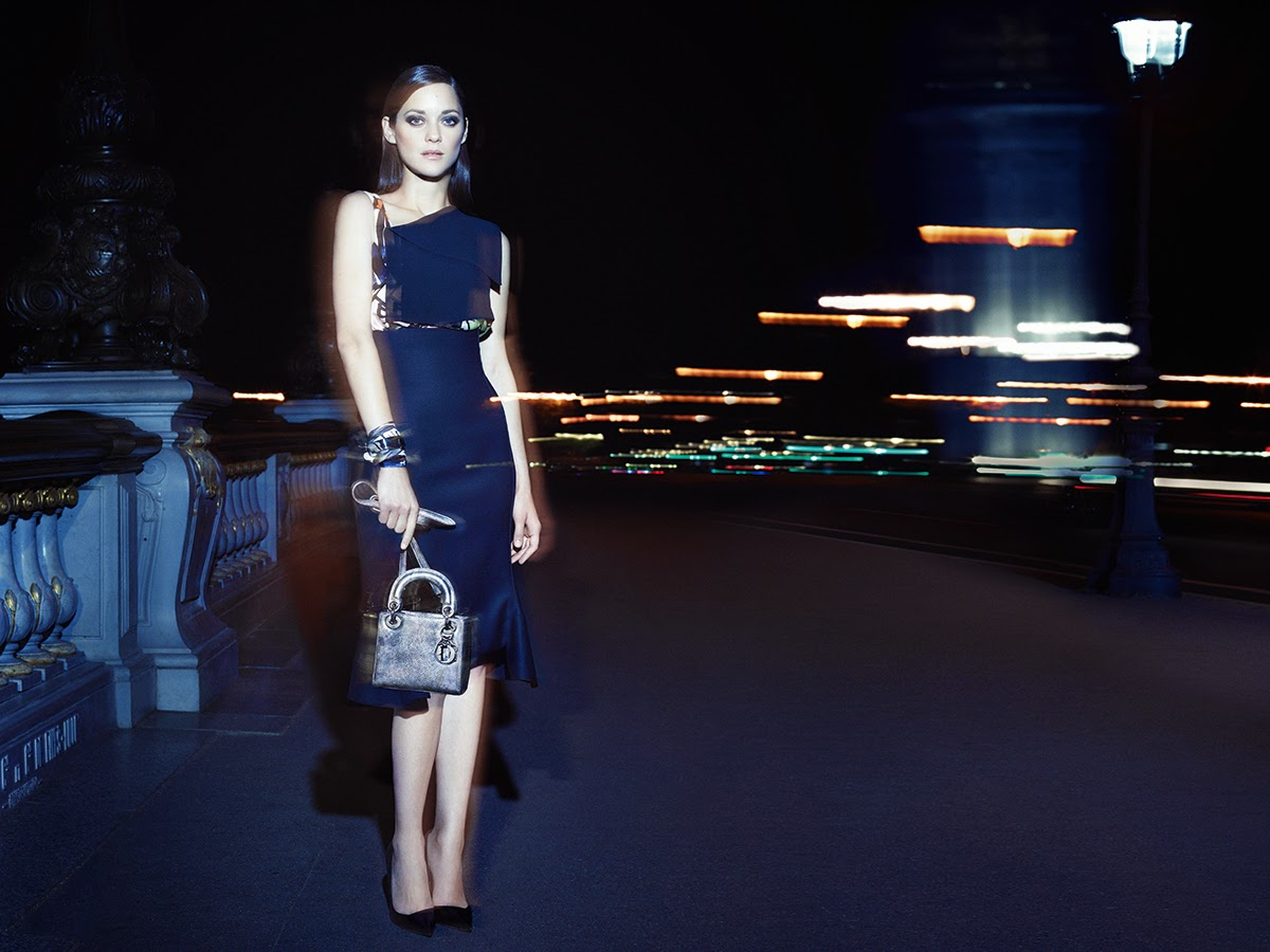 Dior's Cruise 15 Lady Dior Campaign Starring Marion Cotillard