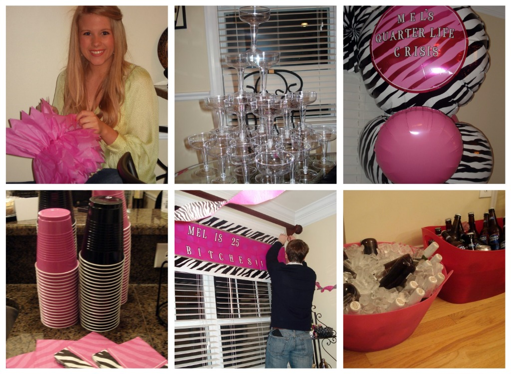 Mels Surprise 25th Birthday Party