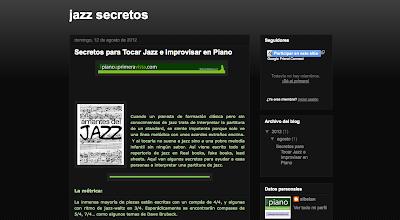 Directoriopax Secretos para tocar Jazz e Improvisar en el piano.