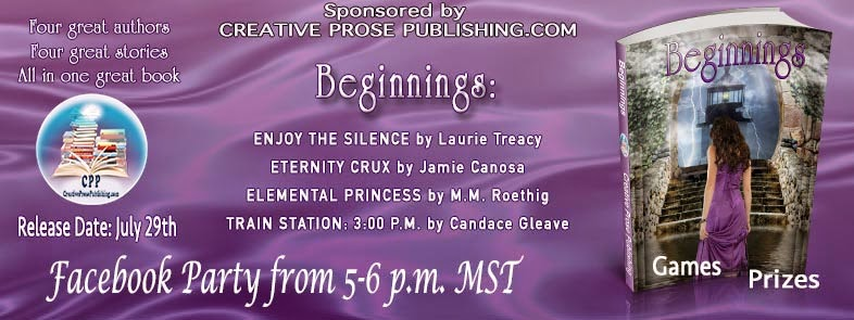 Facebook Event Party for the Release of Beginnings