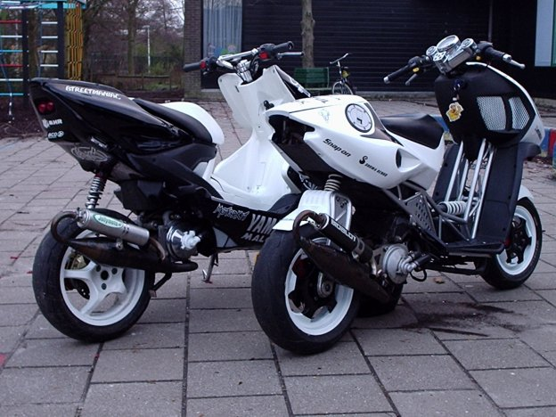 Super Bike Dreamers  Yamaha Aerox 50cc Tuning