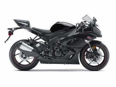2011 Kawasaki Ninja ZX-6R Black