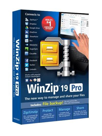 WinZip Pro 19