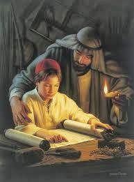 Boy Jesus Reading The Scriptures